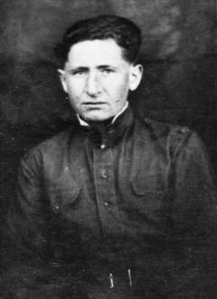Студент-фронтовик Борис Плоткин, 1947 г.