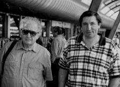 Отец и сын – два профессора, 1998 г.